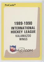 Kalamazoo Wings Checklist