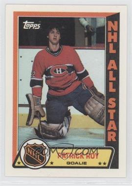 1989-90 Topps - Sticker Inserts #6 - Patrick Roy