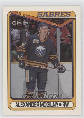 1990-91 O-Pee-Chee - [Base] #42 - Alexander Mogilny