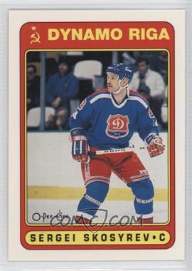 1990-91 O-Pee-Chee - [Base] #496 - Sergei Skosyrev
