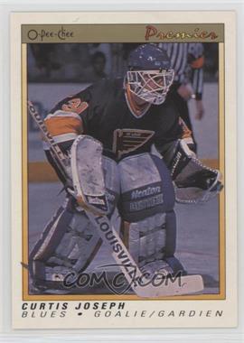 1990-91 O-Pee-Chee Premier - [Base] #51 - Curtis Joseph
