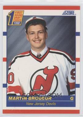 1990-91 Score - [Base] #439 - Martin Brodeur