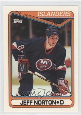 1990-91 Topps - [Base] - Tiffany #166 - Jeff Norton