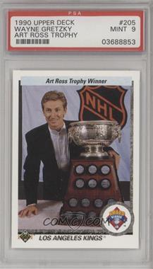 1990-91 Upper Deck - [Base] #205 - Wayne Gretzky [PSA9MINT]