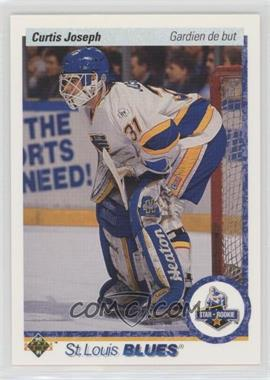1990-91 Upper Deck French - [Base] #175 - Curtis Joseph