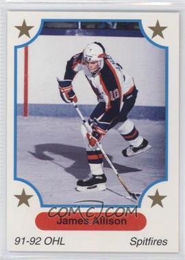 1991-92 7th Inning Sketch OHL - [Base] #189 - James Allison