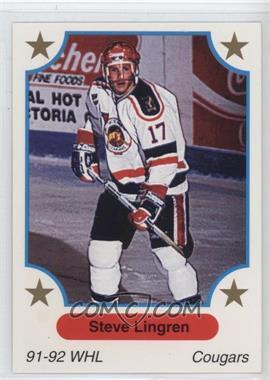 1991-92 7th Inning Sketch WHL - [Base] #61 - Steve Lingren