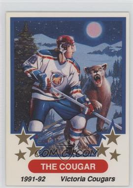 1991-92 7th Inning Sketch WHL - Promo #1 - Victoria Cougars
