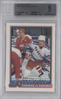 Stanley Cup Playoffs - Rangers vs Capitals [BGS9MINT]