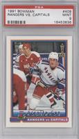 Stanley Cup Playoffs - Rangers vs Capitals [PSA9MINT]