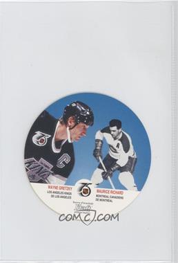 1991-92 Kraft - Peanut Butter Discs #65 - Wayne Gretzky, Maurice Richard