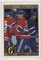 Montreal Canadiens Team, John LeClair