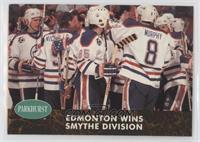 Edmonton Wins Smythe Division