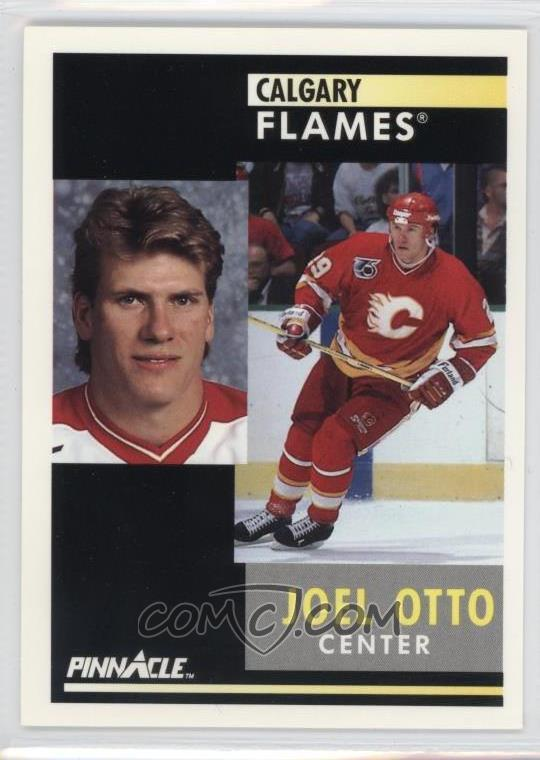 1991 92 Pinnacle Base 179 Joel Otto