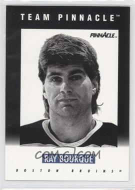 1991-92 Pinnacle - Team Pinnacle #B-2 - Ray Bourque