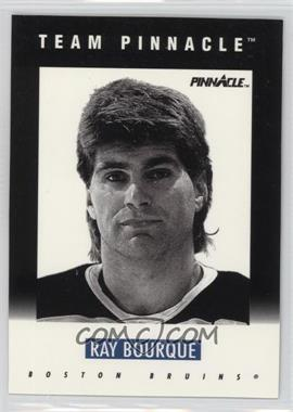 1991-92 Pinnacle - Team Pinnacle #B-2 - Ray Bourque