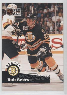 1991-92 Pro Set - [Base] - French #520 - Bob Beers