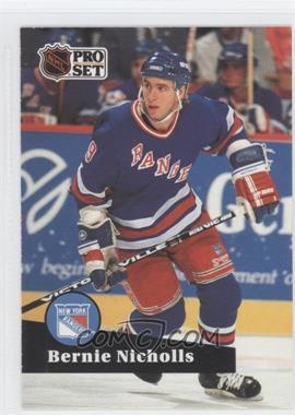 1991-92 Pro Set - [Base] #166 - Bernie Nicholls