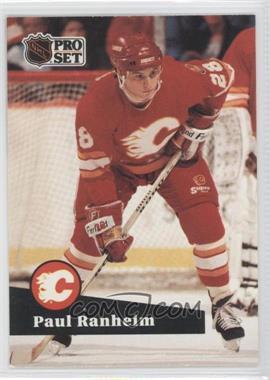 1991-92 Pro Set - [Base] #31 - Paul Ranheim