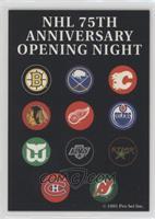 NHL 75th Opening Night