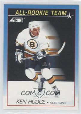 1991-92 Score - [Base] - Canadian Bilingual #383 - Ken Hodge