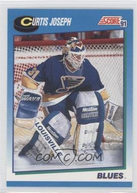 1991-92 Score - Canadian - English #516 - Curtis Joseph