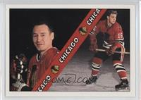 Chicago Blackhawks Checklist (Pierre Pilote, Bobby Hull)