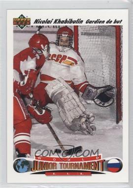 1991-92 Upper Deck - [Base] - French #652 - Nicolai Khabibulin