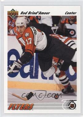 1991-92 Upper Deck - [Base] #547 - Rod Brind'Amour
