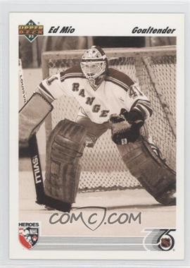 1991-92 Upper Deck - [Base] #639 - Eddie Mio