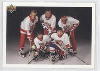 Brett Hull, Wayne Gretzky, Valeri Kamensky