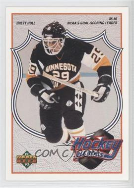 1991-92 Upper Deck - Hockey Heroes Brett Hull #3 - Brett Hull