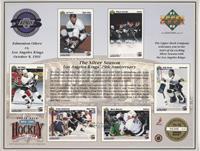 Los Angeles Kings - Jari Kurri, Wayne Gretzky, Rob Blake, Kelly Hrudey, Tomas S…