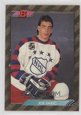 1992-93 Bowman - [Base] #240 - Joe Sakic