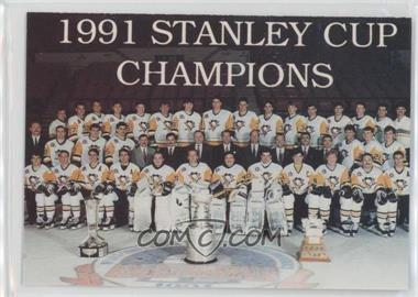 1992-93 High Liner Stanley Cup Centennial Collector Series - [Base] #27 - Pittsburgh Penguins (1991 Stanley Cup Champions)
