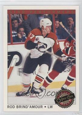 1992-93 O-Pee-Chee Premier - Star Performers #9 - Rod Brind'Amour