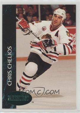 1992-93 Parkhurst - [Base] - Emerald Ice #29 - Chris Chelios