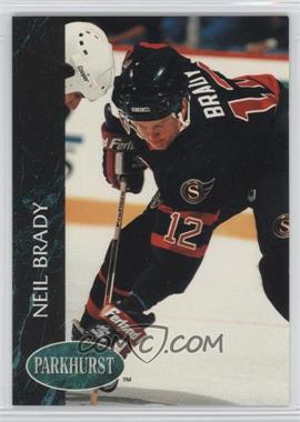 1992-93 Parkhurst - [Base] #124 - Neil Brady
