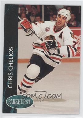 1992-93 Parkhurst - [Base] #29 - Chris Chelios