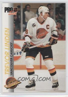1992-93 Pro Set - [Base] #197 - Trevor Linden