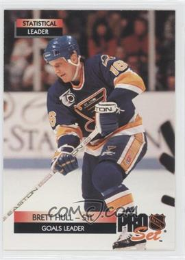 1992-93 Pro Set - [Base] #245 - Brett Hull