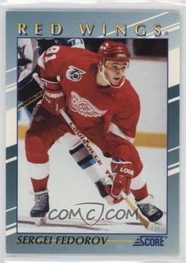 1992-93 Score - Young Superstars #5 - Sergei Fedorov
