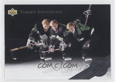 1992-93 Upper Deck - All-Rookie Team #AR5 - Vladimir Konstantinov