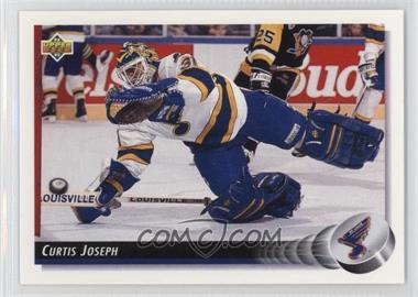 1992-93 Upper Deck - [Base] #186 - Curtis Joseph