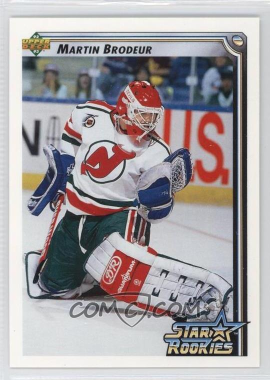 cf3fcfd66 1992-93 Upper Deck -  Base   408 - Martin Brodeur - COMC Card ...