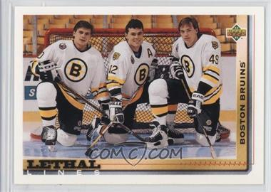 1992-93 Upper Deck - [Base] #455 - Adam Oates, Joe Juneau, Dmitri Kvartalnov