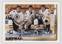 Adam Oates, Joe Juneau, Dmitri Kvartalnov [Noted]