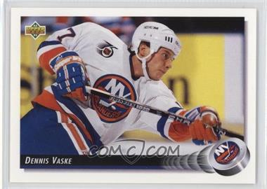 1992-93 Upper Deck - [Base] #50 - Dennis Vaske