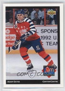 1992-93 Upper Deck McDonald's - [Base] #McD-11 - Adam Oates