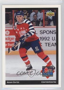 1992-93 Upper Deck McDonald's - [Base] #McD-11 - Adam Oates